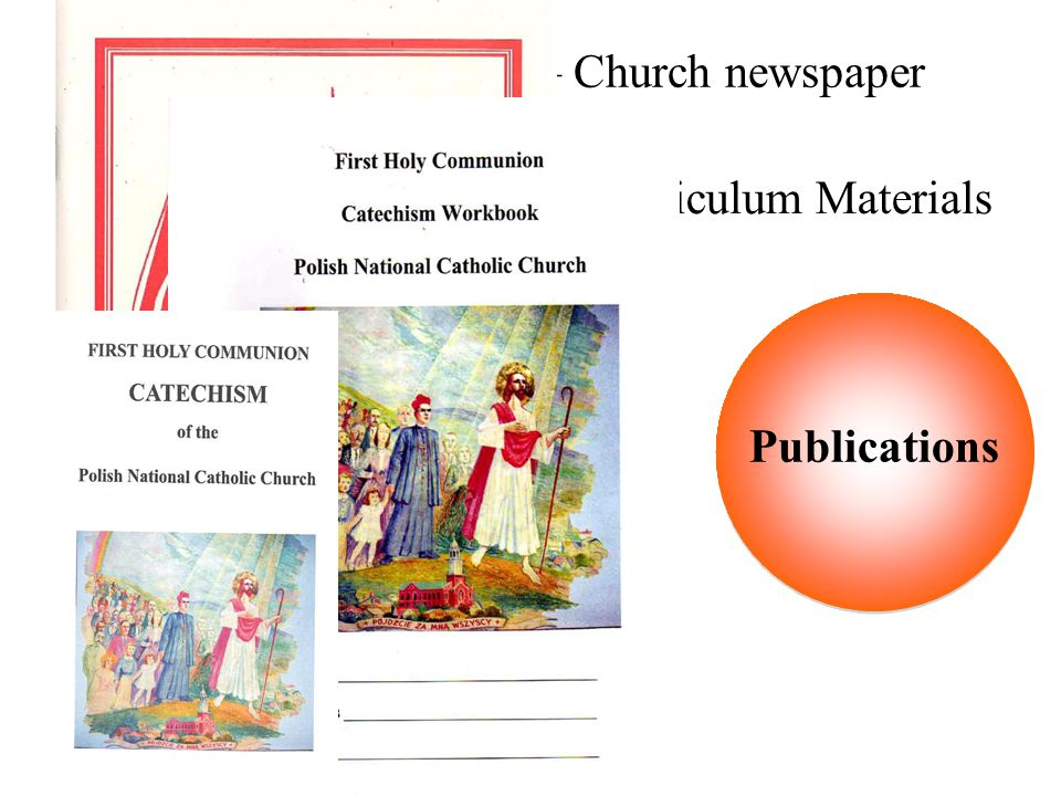 School of Christian Living Curriculum Materials Catechisms and Workbooks Liturgical books and pamphlets Mass Pew Books PNCC Altar Missal God's Field –