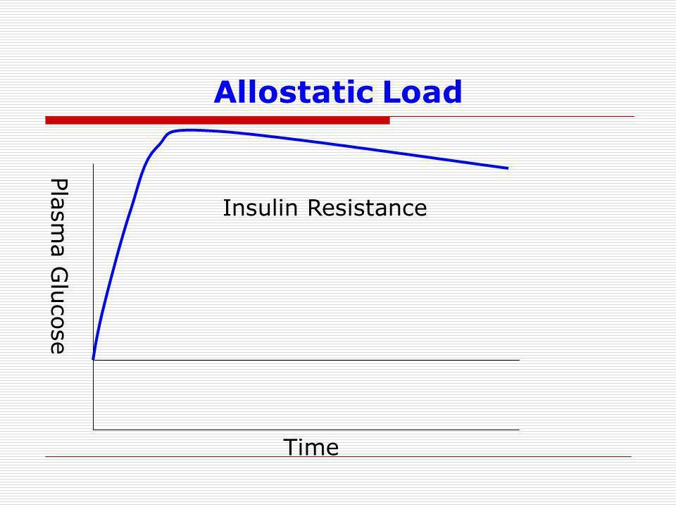 Allostatic Load Plasma Glucose Time Insulin Resistance