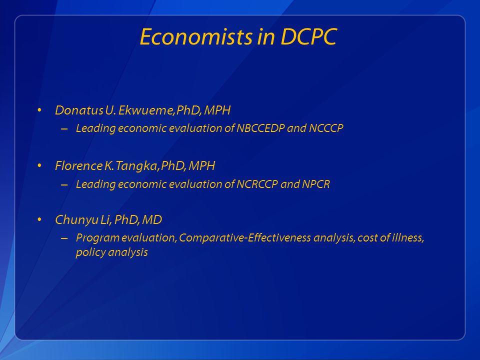 Economists in DCPC Donatus U.