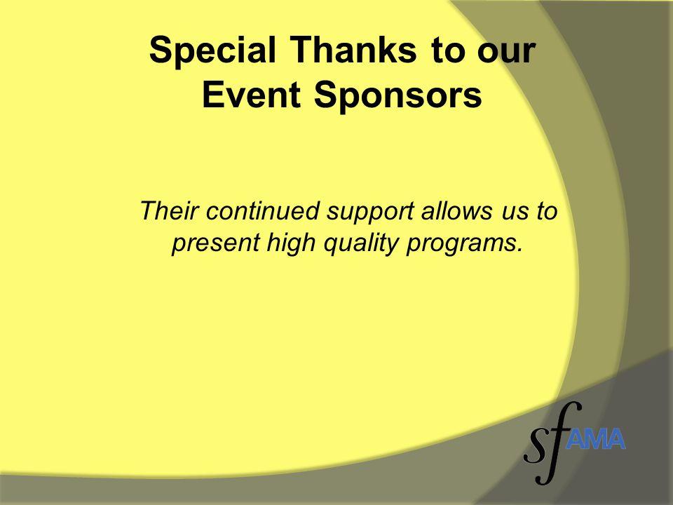 Bronze Sponsors CfMC Research Now Kinetic Creative Qualtrics Vertical Response UC Irvine Extension