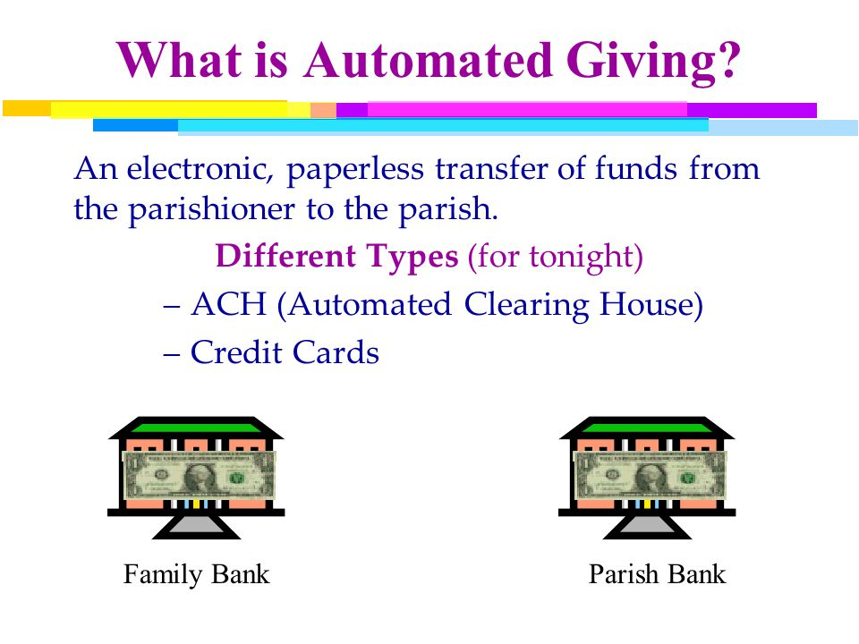 What is Automated Giving.