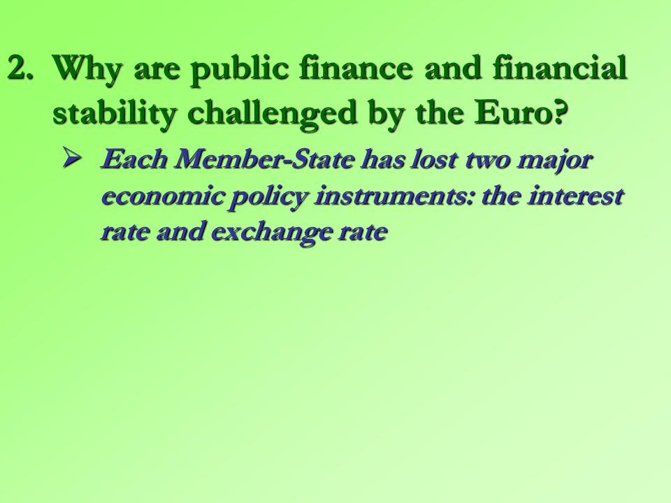 Graph 2 – GDP per capita (Euro): the convergence has stopped Source: Artus Patrick (2011), La crise de la zone euro nous apprend beaucoup sur le fonctionnement des Unions Monétaires ; l'euro est-il sauvé , Flash Economie, n° 599, 9 août, p.
