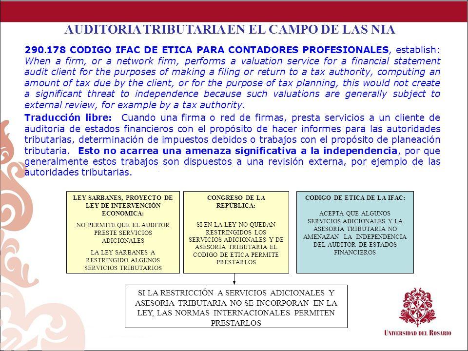 Los Procedimientos de Auditoria utilizados en Colombia carecen de una guía estandarizada, lo cual hace que se usen diferentes procedimientos, con criterios diferentes para elaborar el trabajo auditor.