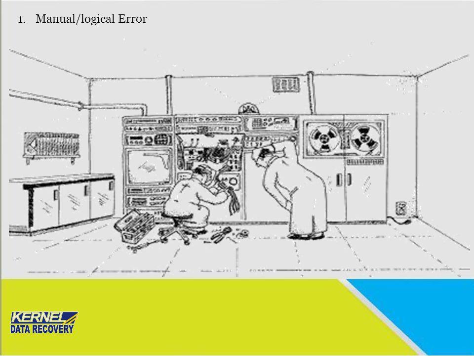1.Manual/logical Error