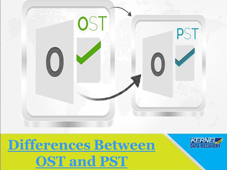 Kernel for OST to PST Conversion Software The software is highly advance and capable of converting an offline OST file to the Outlook PST file format.