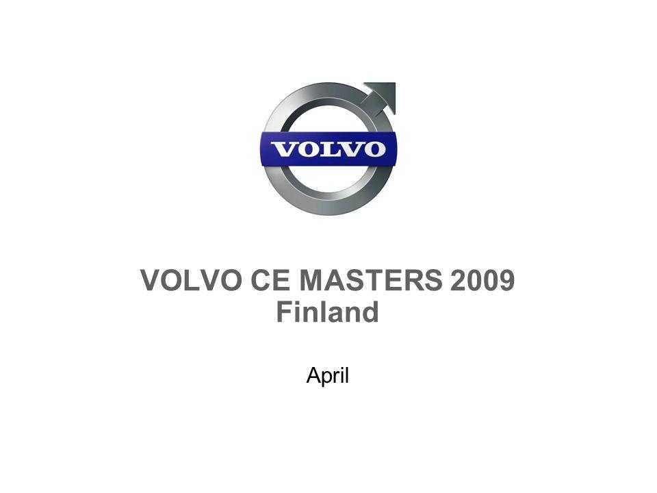 VOLVO CE MASTERS 2009 Finland April