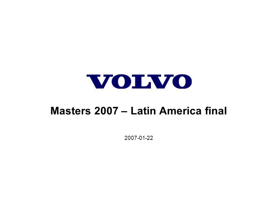 2007-01-22 Masters 2007 – Latin America final