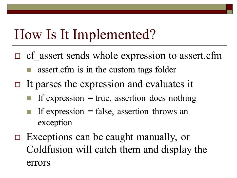 What Does an Error Return.