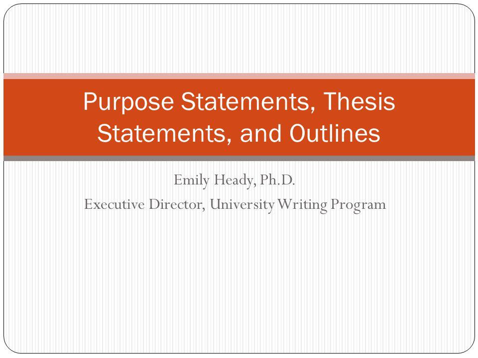 Emily Heady, Ph.D.