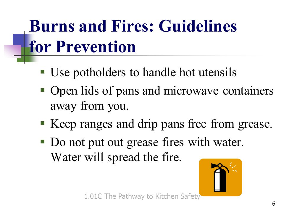 Other Safety Issues: Guidelines for Prevention  Do not wear jewelry.
