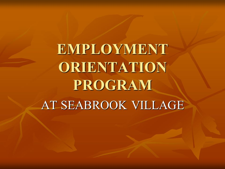 PROGRAM DESCRIPTION The ultimate goal is to have each student employed at his/her highest competitive level upon graduation.
