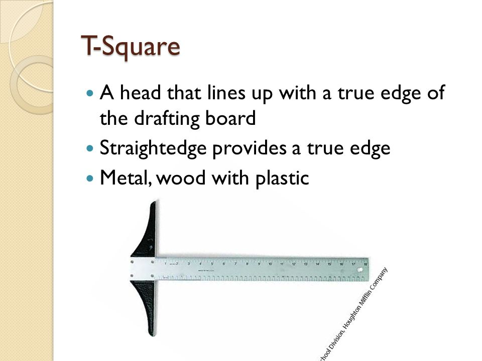 Compass True circles or arcs can be drawn with this Bow and Friction-joint