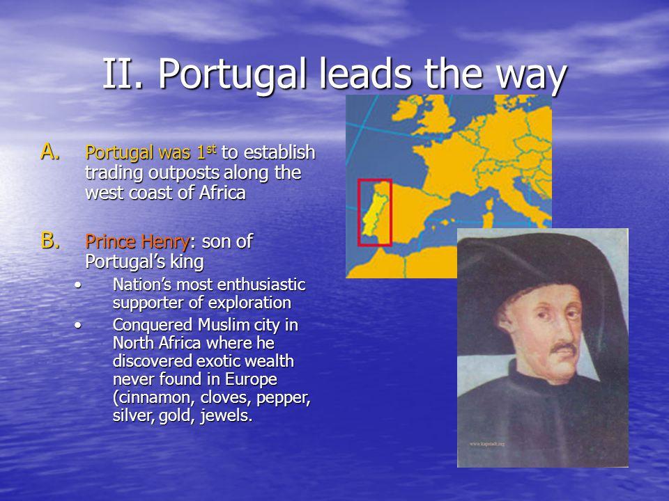 II.Portugal leads the way A.