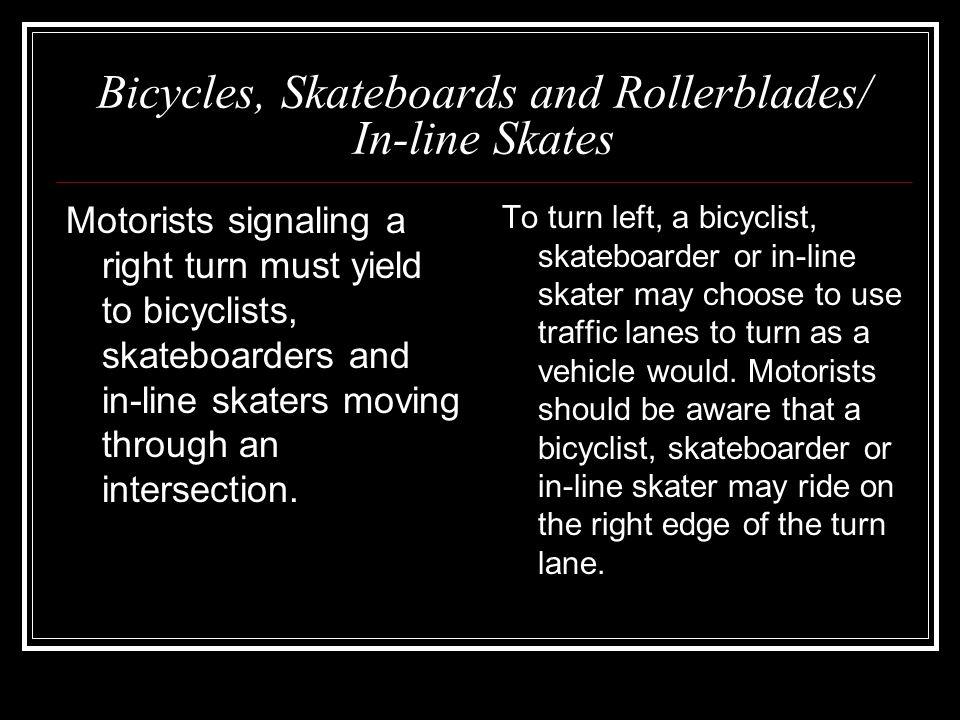 4 Special Regulatory Signs