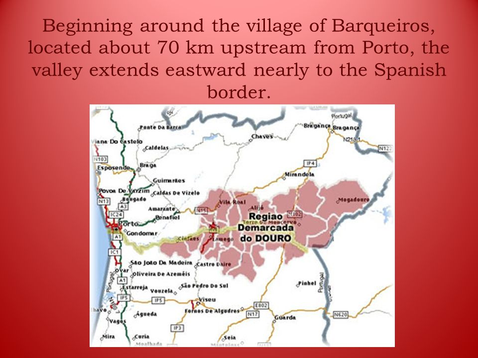 The landscape is breathtaking with its picturesque quintas, or farms, and terraced vineyards on almost vertical slopes dropping down to the river.