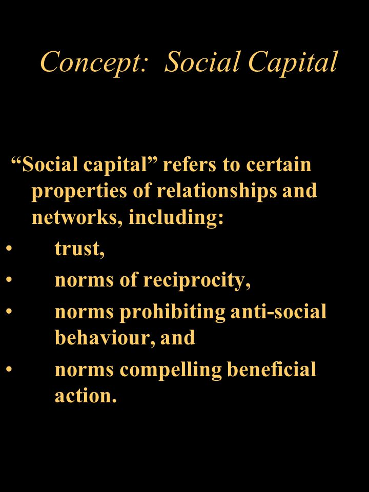 Social Changes Affecting the Social Fabric Emergence of a 'market' culture. Society as simply a set of individuals engaged in economic transactions as