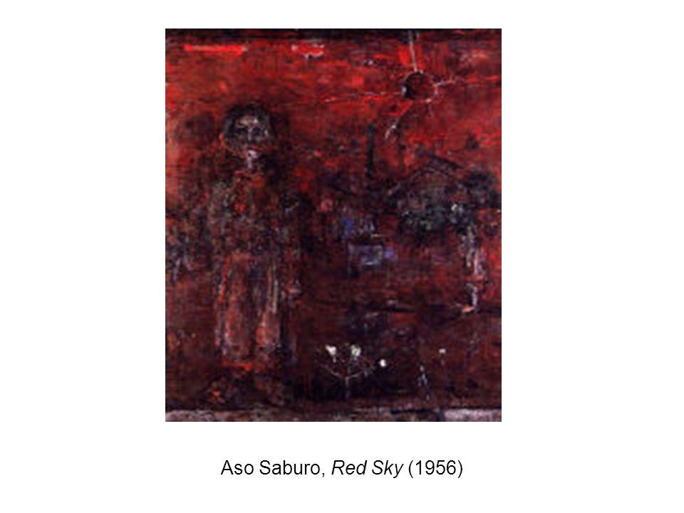 Aso Saburo, Red Sky (1956)