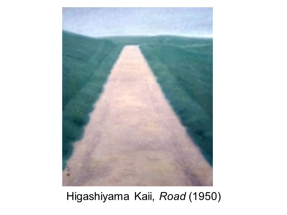 Higashiyama Kaii, Road (1950)
