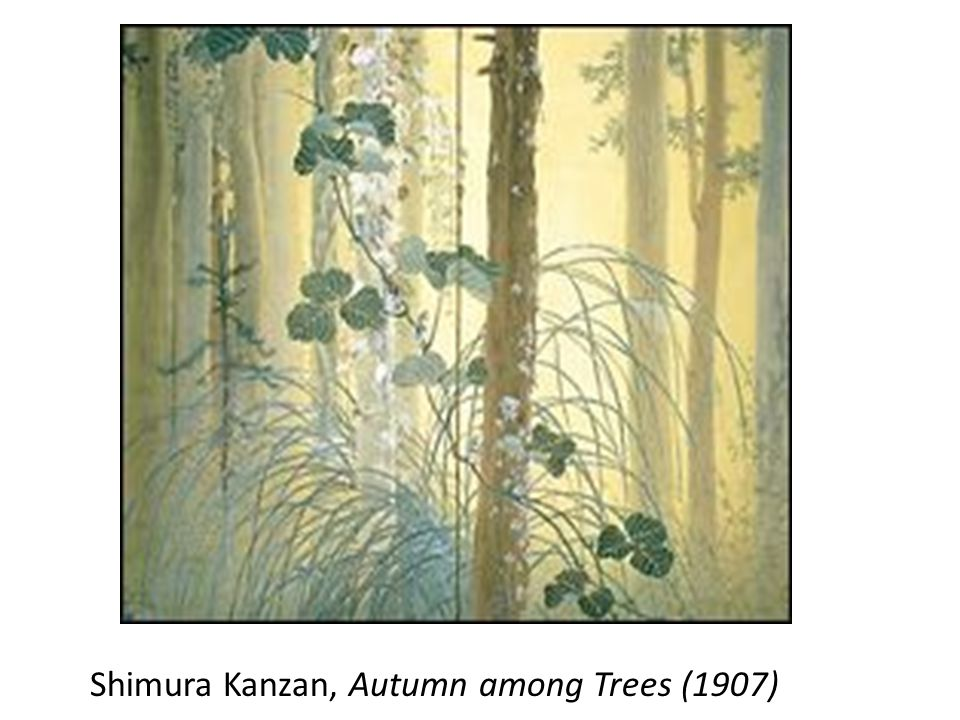 Shimura Kanzan, Autumn among Trees (1907)