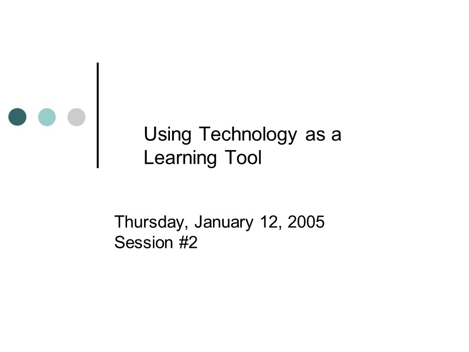 Potential Uses of Technology Allows teachers to potentially customize instruction – example: Web Quests Can eliminate time constraints and local boundaries – use of web-based technologies Provides schools with the opportunity to collaborate on projects Potential links with post-secondary, public, private, and other K-12 systems Has the potential to expand the learning process or academic success of all students