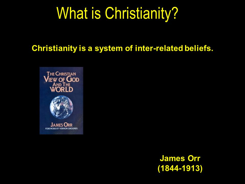 What is Christianity. Christianity is a system of inter-related beliefs.