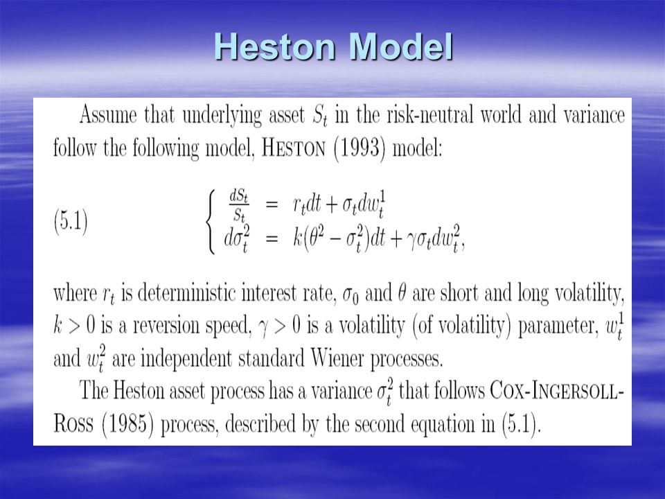Heston Model