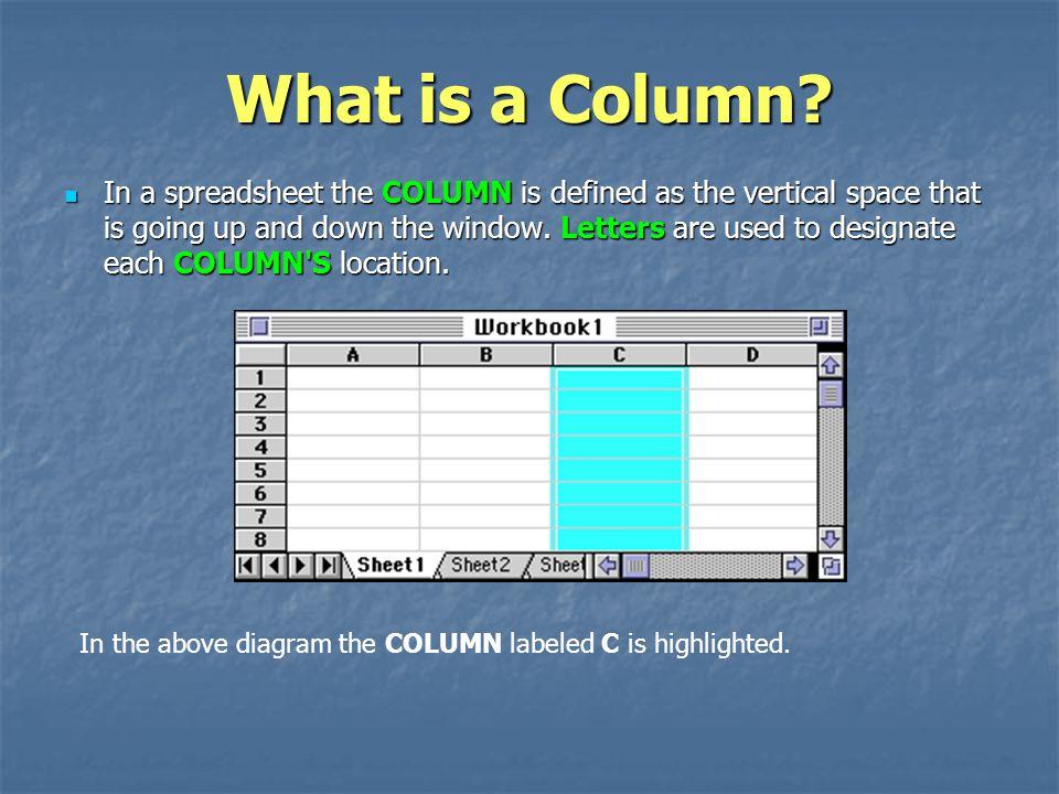 What is a Column.