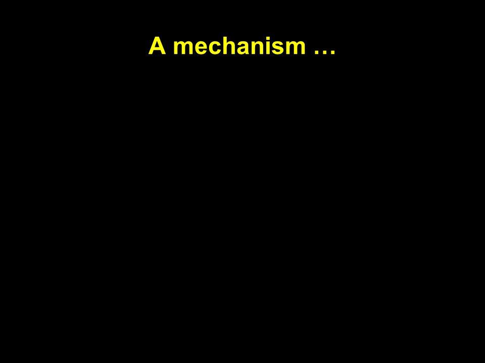 A mechanism …