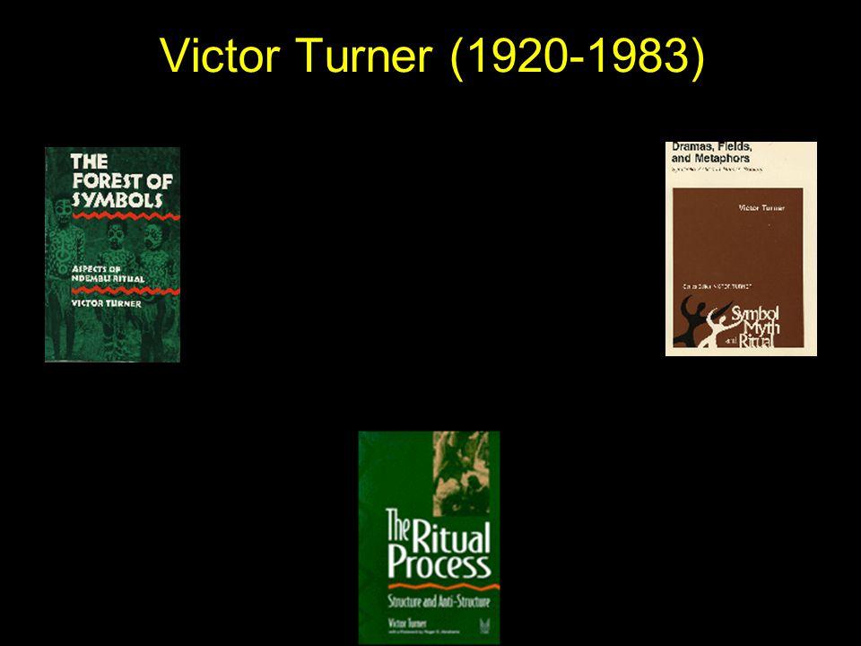 Victor Turner (1920-1983)