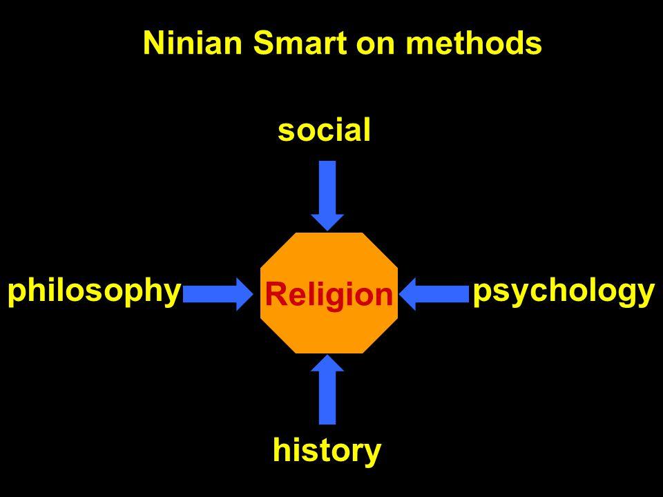 Ninian Smart on methods Religion history philosophypsychology social