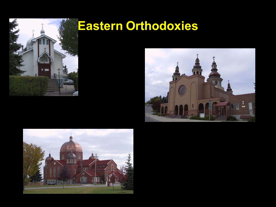 Eastern Orthodoxies