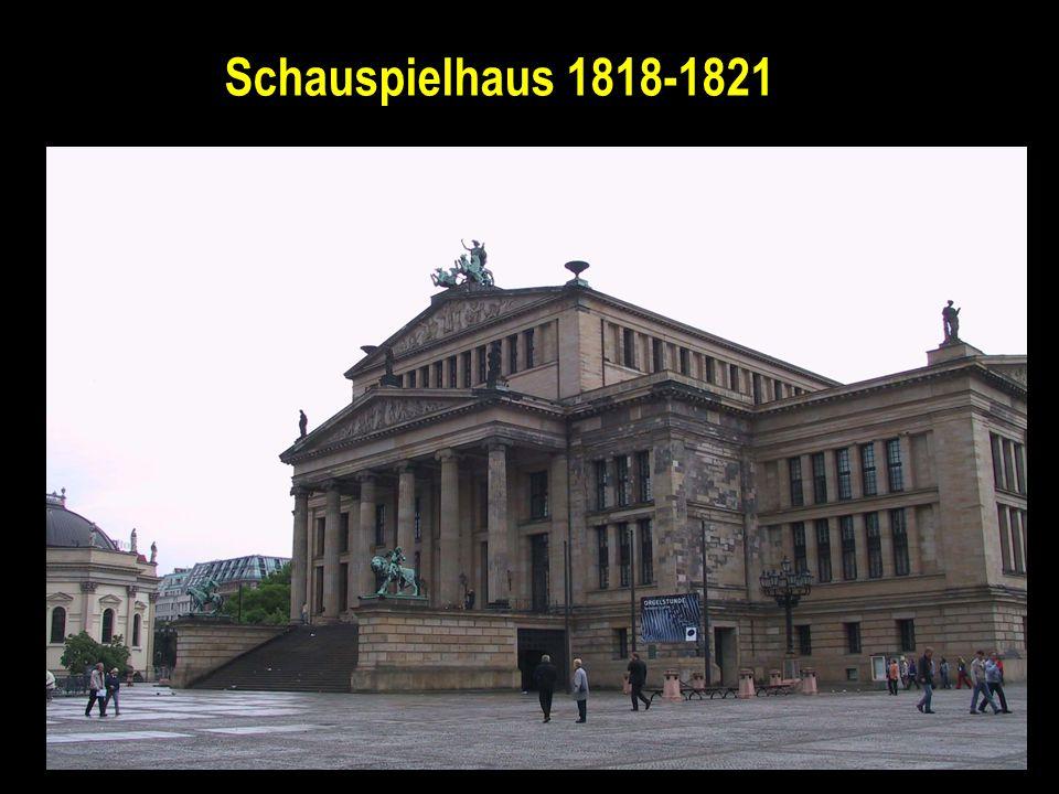 Schauspielhaus 1818-1821