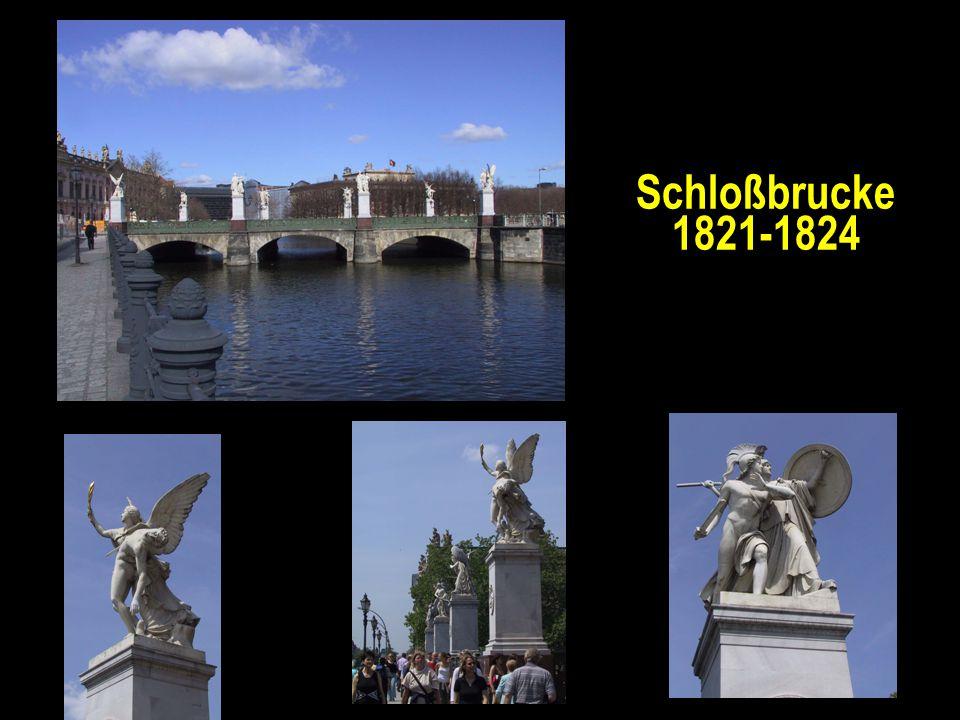 Schloßbrucke 1821-1824