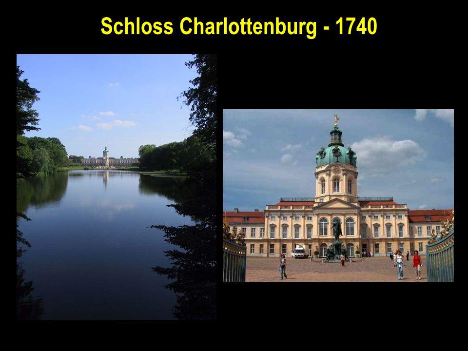 Schloss Charlottenburg - 1740