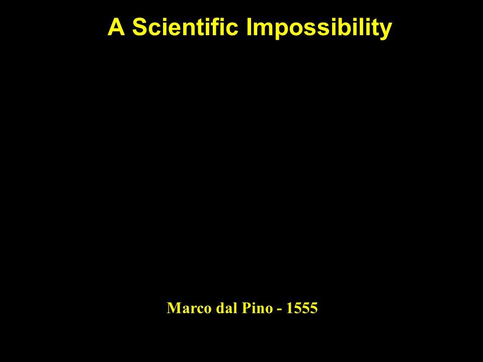 A Scientific Impossibility Marco dal Pino - 1555