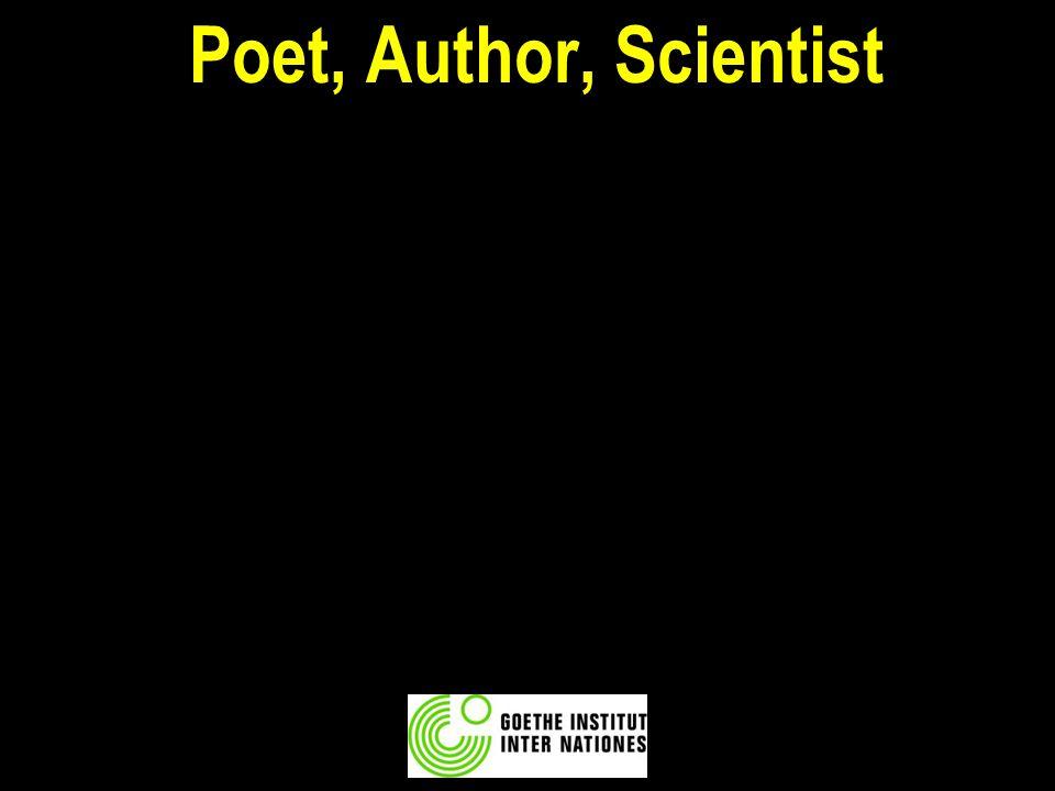 Poet, Author, Scientist