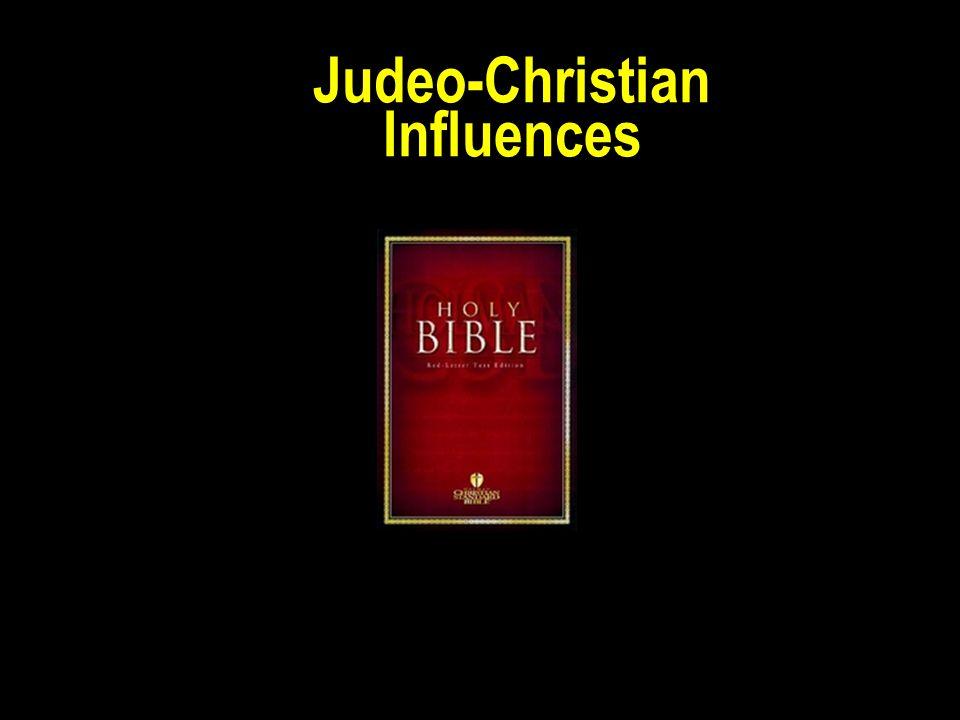 Judeo-Christian Influences