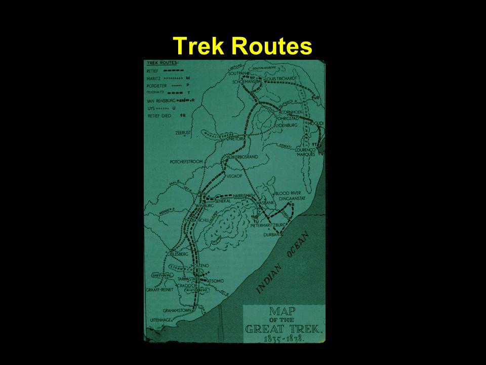 Trek Routes