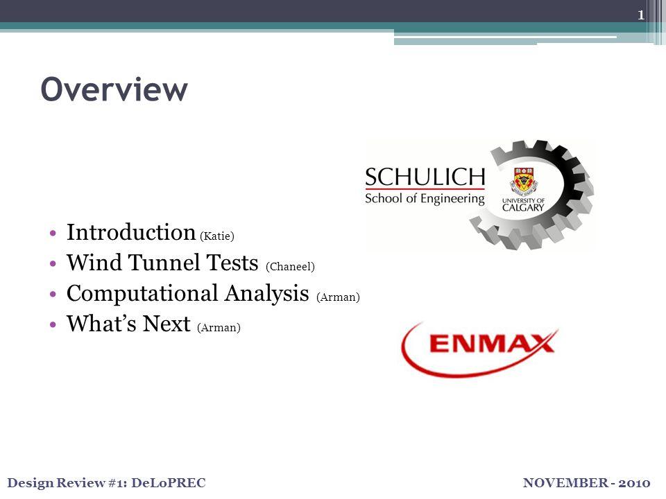 NOVEMBER - 2010Design Review #1: DeLoPREC Introduction – ENMAX Frames 2 Renusol ConSole   DIY Frame
