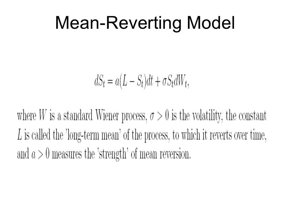 Mean-Reverting Model