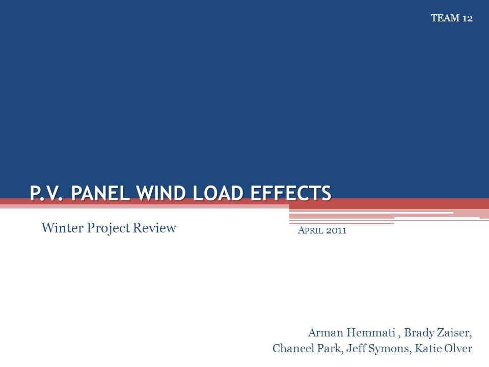 April - 2011Design Review #5: DeLoPREC CFD – Initial Results 11