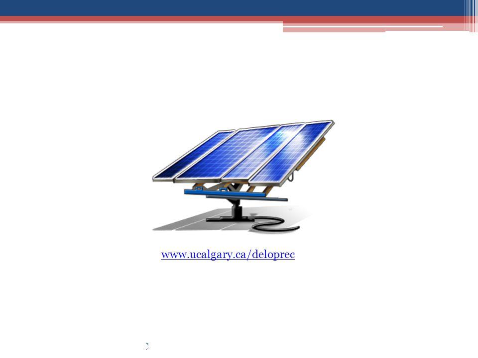 April - 2011Design Review #5: DeLoPREC www.ucalgary.ca/deloprec