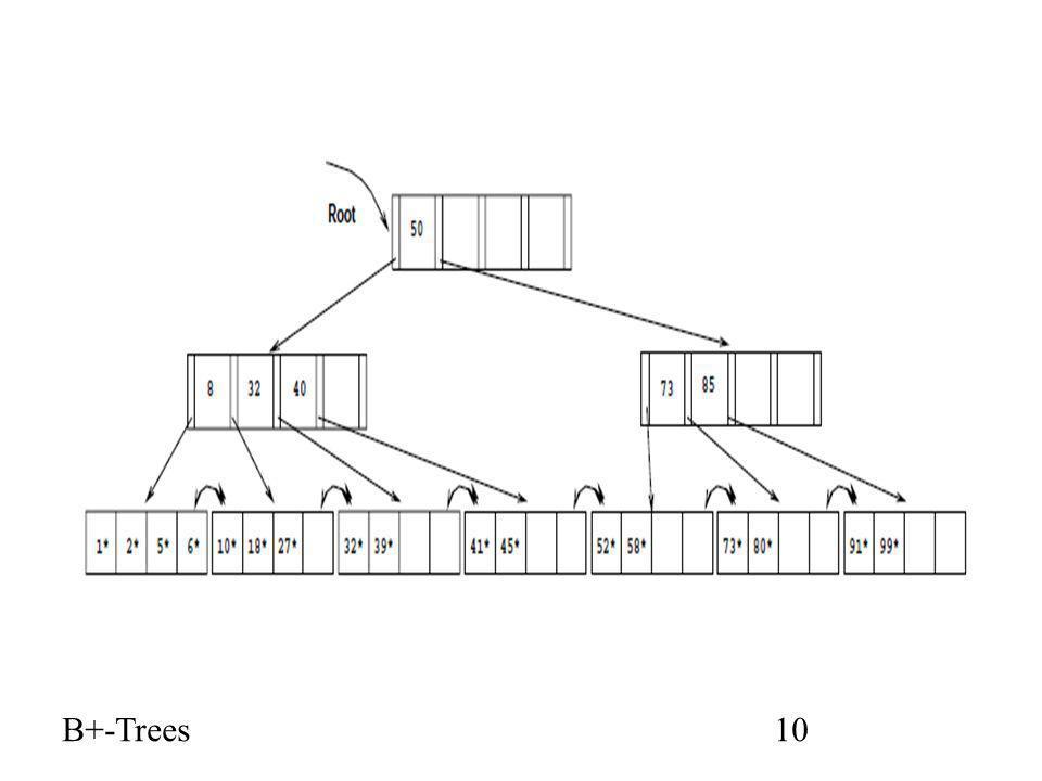B+-Trees10
