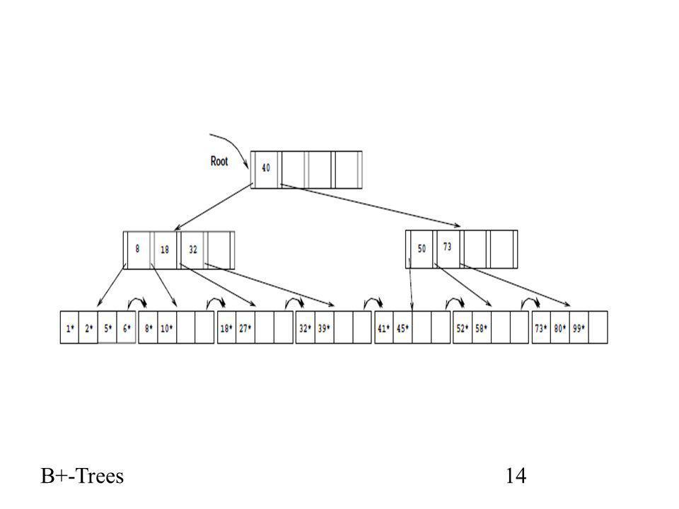 B+-Trees14