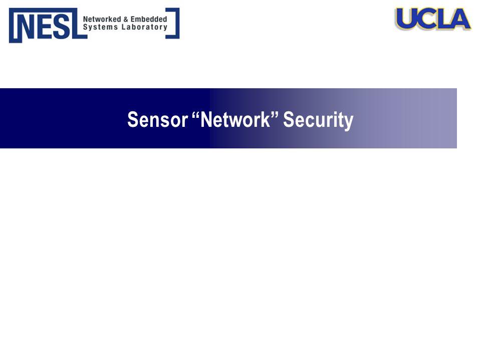 "Sensor ""Network"" Security"