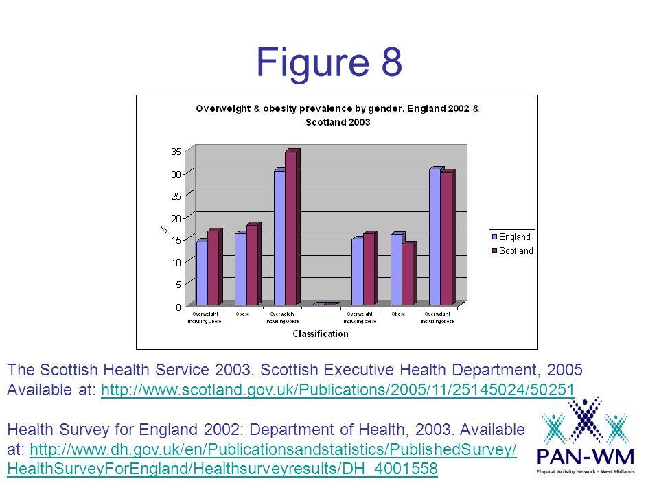 Figure 8 The Scottish Health Service 2003.
