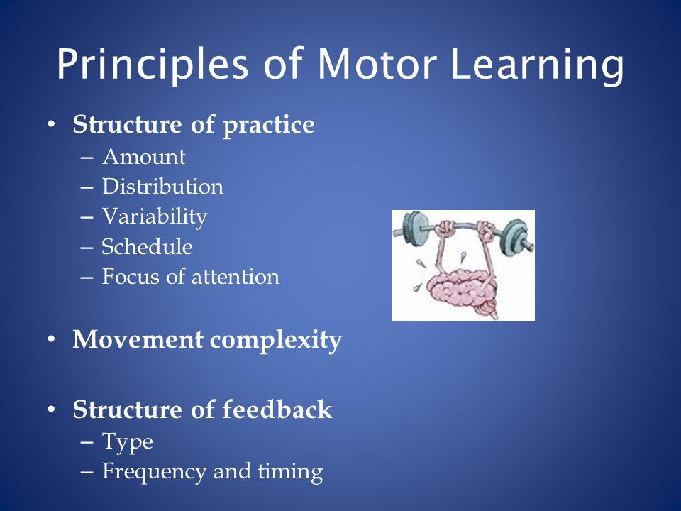 Maas et al (2008).Principles of Motor Learning in Treatment of Motor Speech Disorders.