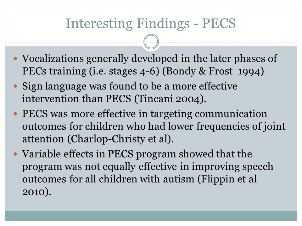 There is not adequate evidence to support the claim that either PECs or MTW interventions are effective in improving social communication skills in children under 3 that are maintained beyond the treatment period.