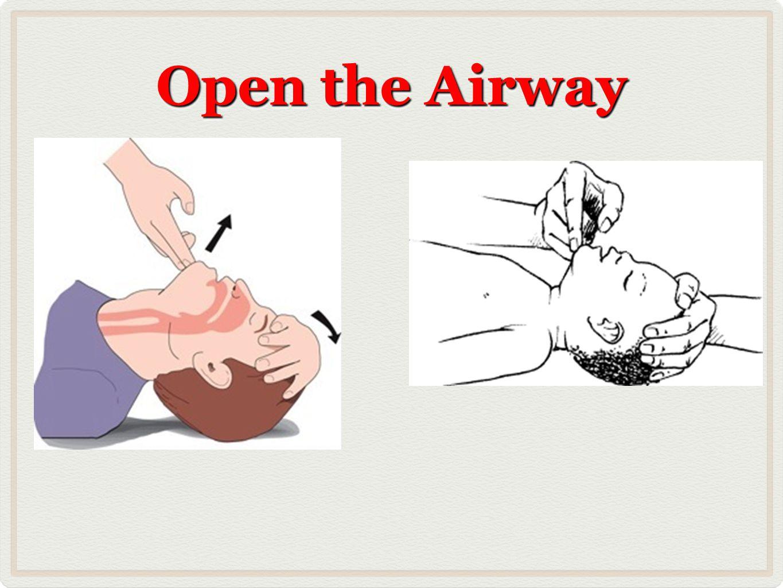 Open the Airway