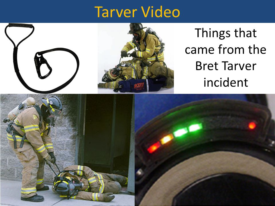 Tarver Video Things that came from the Bret Tarver incident